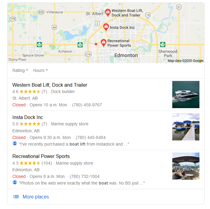 Edmonton SEO Expert Local Search Engine Optimization. Search engine results improve with SEO.
