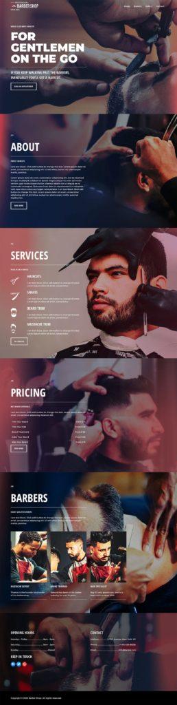 barber website design edmonton web designer hair salon edmonton web designer website quotes