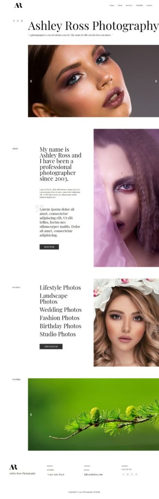 edmonton photography website designs web designer for photography edmonton